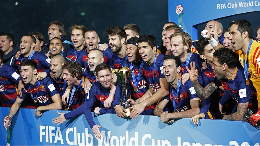 FC Barcelona conquista mundial de clubes de futebol ao bater River Plate por 3-0
