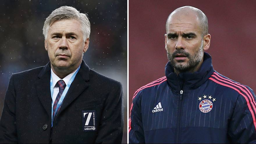 Guardiola to be replaced by Ancelotti at Bayern