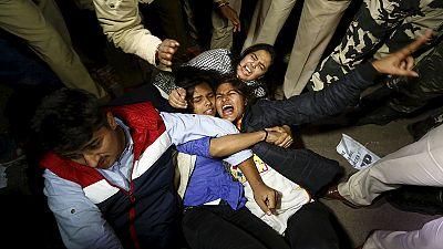 Indien: Protest gegen Freilassung eines Gruppenvergewaltigers