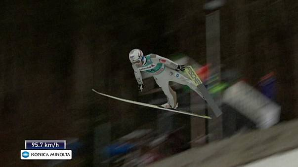 Prevc makes it back-to-back wins in Engelberg