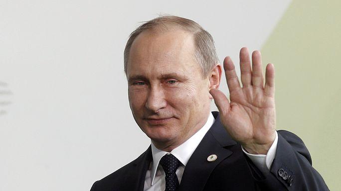 Путин призвал Европу объединяться с РФ, а не с США