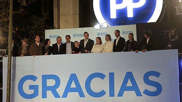 Los partidos emergentes sacuden el bipartidismo en España