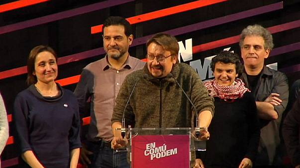 20-D: En Comú Podem, la coalición de Podemos, gana en Cataluña y supera a los partidos independentistas