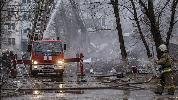 Rússia: Explosão de gás arrasa prédio em Volgogrado