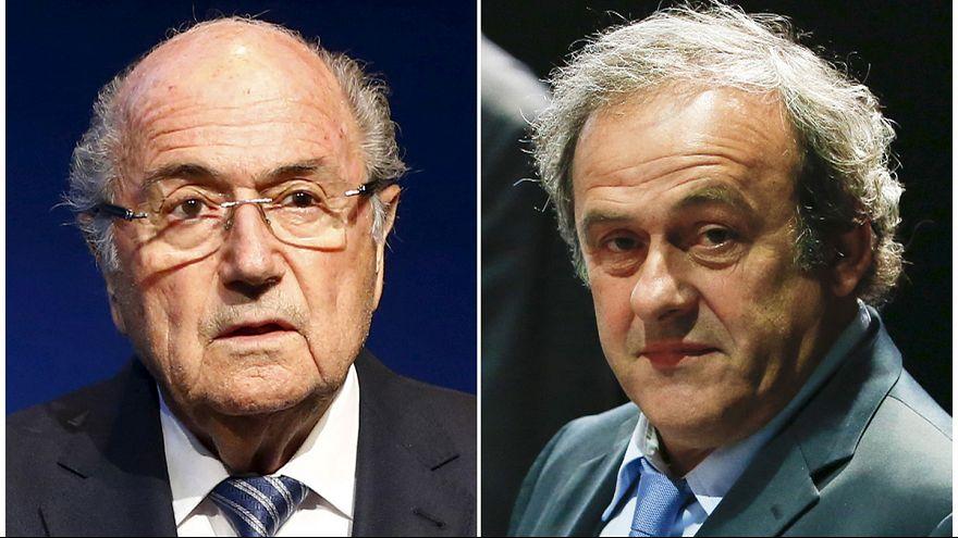 Football: Blatter and Platini get 8 year bans