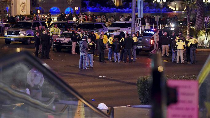Járdán gázolt egy autós Las Vegas-ban