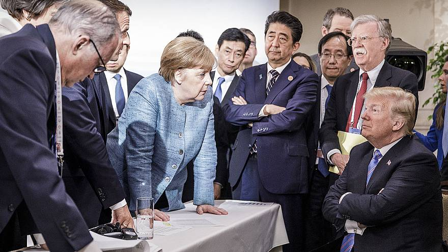 Image: Heads Of State Attend G7 Meeting - Day Two