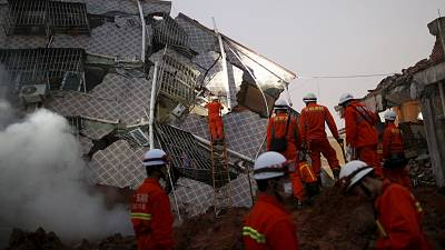 China landslide leaves 91 missing in Guangdong province