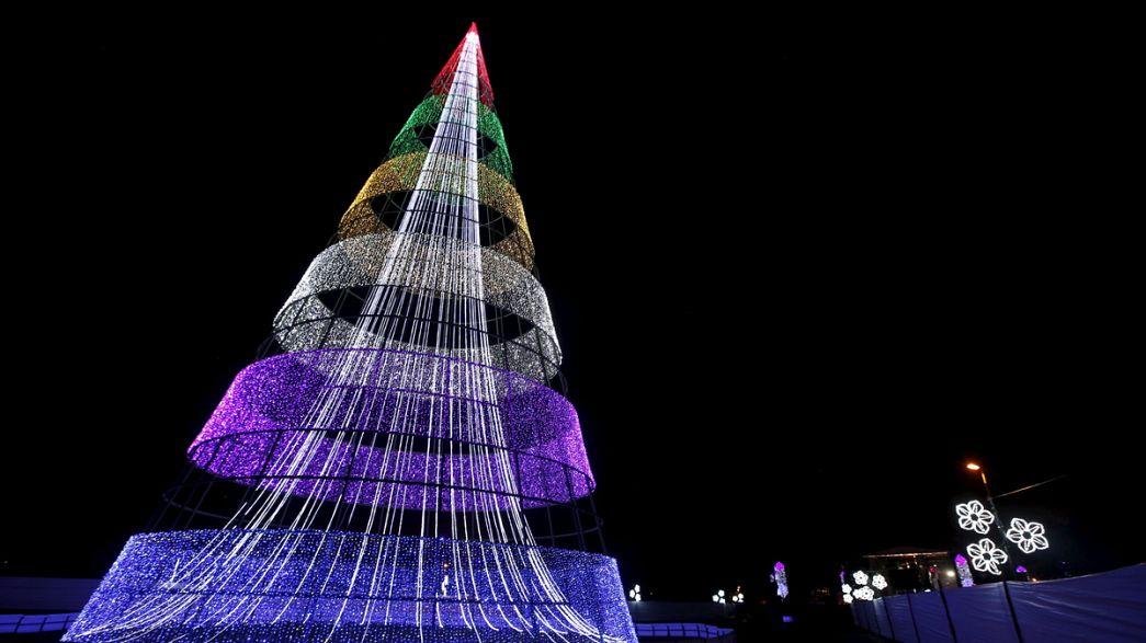 Ungewöhnliche Weihnachtsbäume