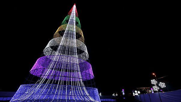 Florilège d'arbres de Noël insolites