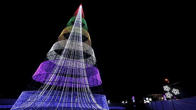 İlginç Noel ağaçları