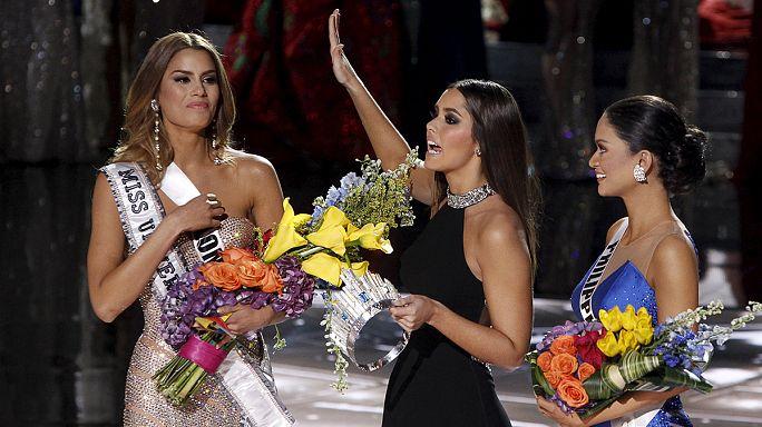 Güzellik yarışmasında anons skandalı