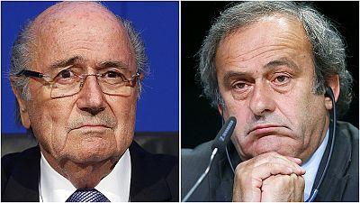 Sepp Blatter et Michel Platini suspendus huit ans par la FIFA
