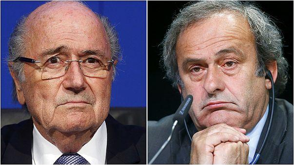Joseph Blatter y Michel Platini, suspendidos ocho años por la FIFA