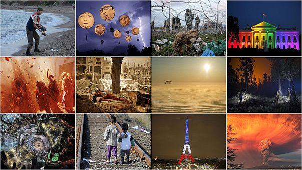 Un anno per immagini: il 2015 in 12 foto