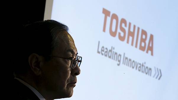 Toshiba warns of record 4-billion euro loss