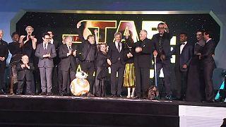 Star Wars breaks box office receipts in first weekend