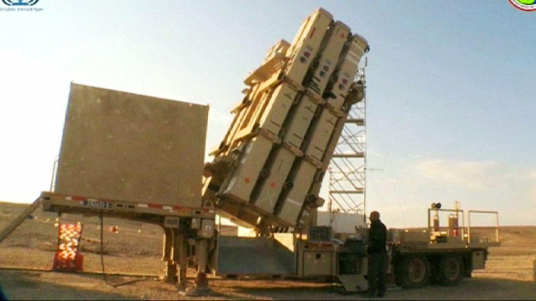 """Israel baut """"Steinschleuder"""" gegen Kurzstreckenraketen"""