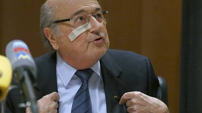 SEPP BLATTER: FIFA Boss to fight eight-year ban