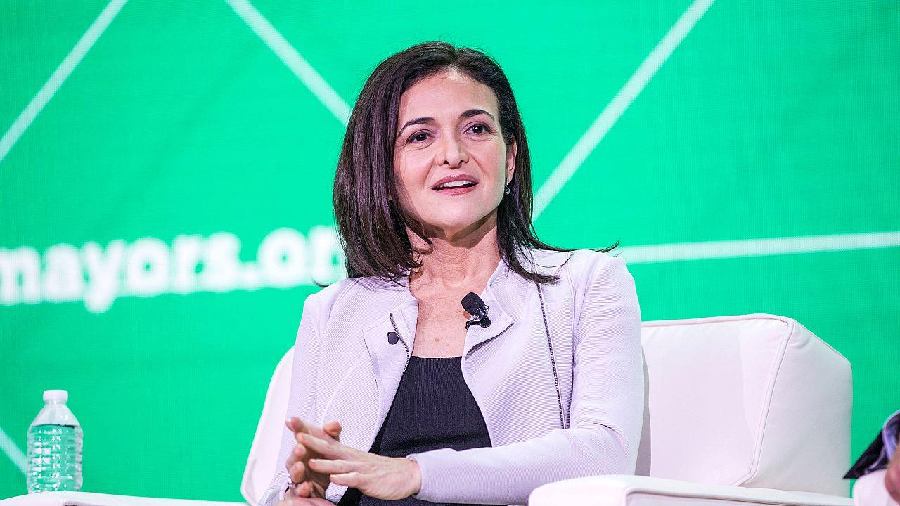 Image: Facebook's Sheryl Sandberg Addresses The U.S. Conference Of Mayors I