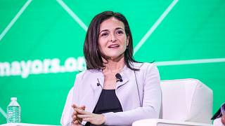 Image: Facebook's Sheryl Sandberg Addresses The U.S. Conference Of Mayors I