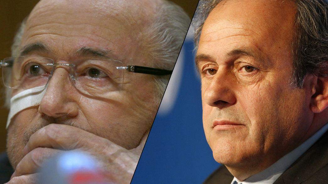 Blatter y Platini apelarán su sanción de ocho años de suspensión de la FIFA