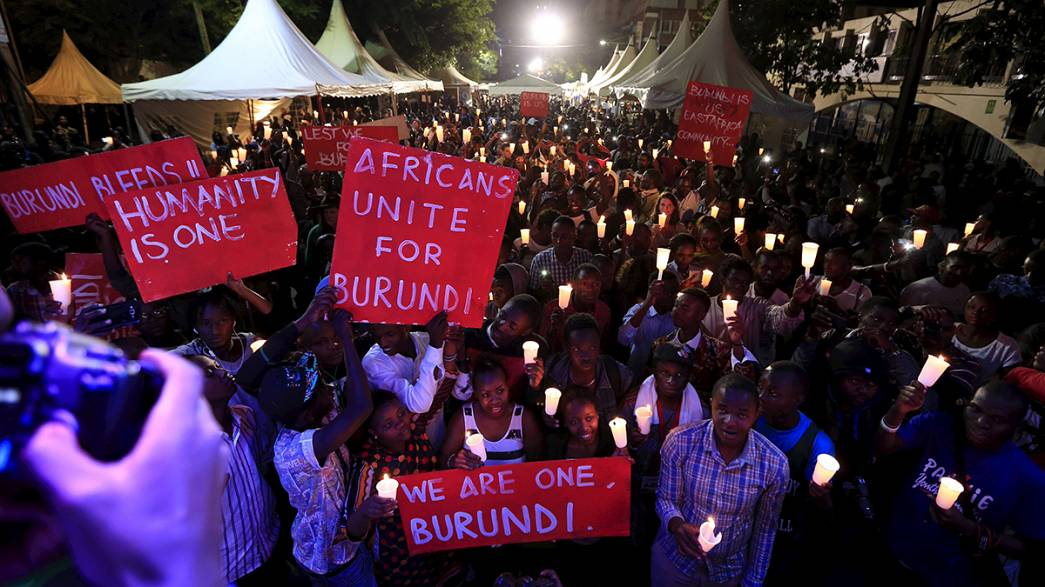 Növekvő feszültség Burundiban