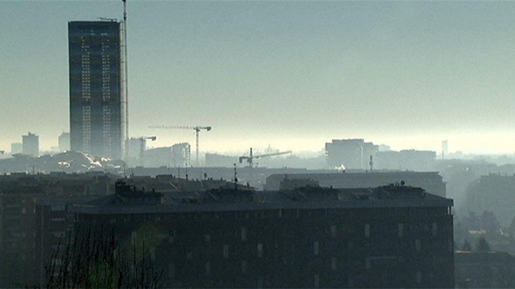 Restricciones de circulación en las ciudades italianas por los picos de polución