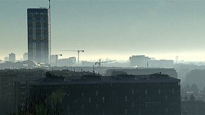 Cidades italianas enfrentam pico de poluição