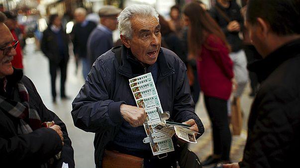 Karácsonyi lottóhúzás spanyol-módra