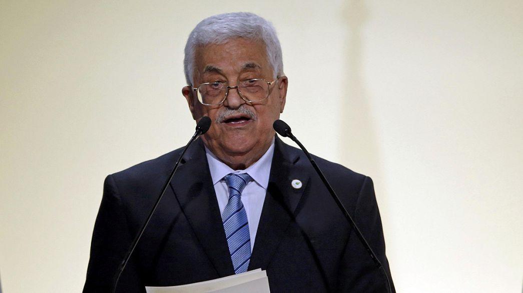 Palästinenserpräsident Abbas zu Besuch in Griechenland