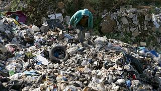 Lebanon's growing garbage mountains