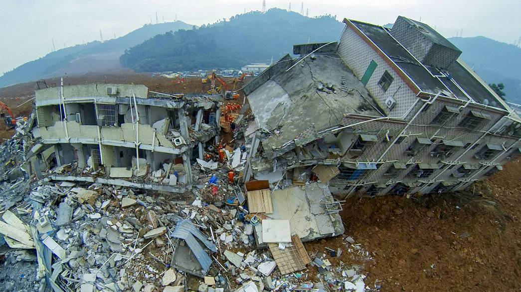 First body pulled from Shenzhen landslide, at least 81 still missing