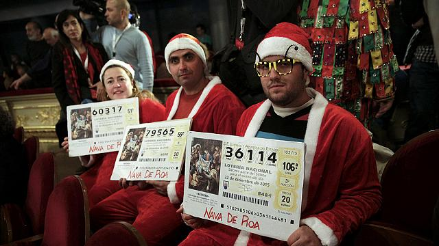 """Les Espagnols ont les yeux rivés sur """"El Gordo"""", la loterie de Noël"""