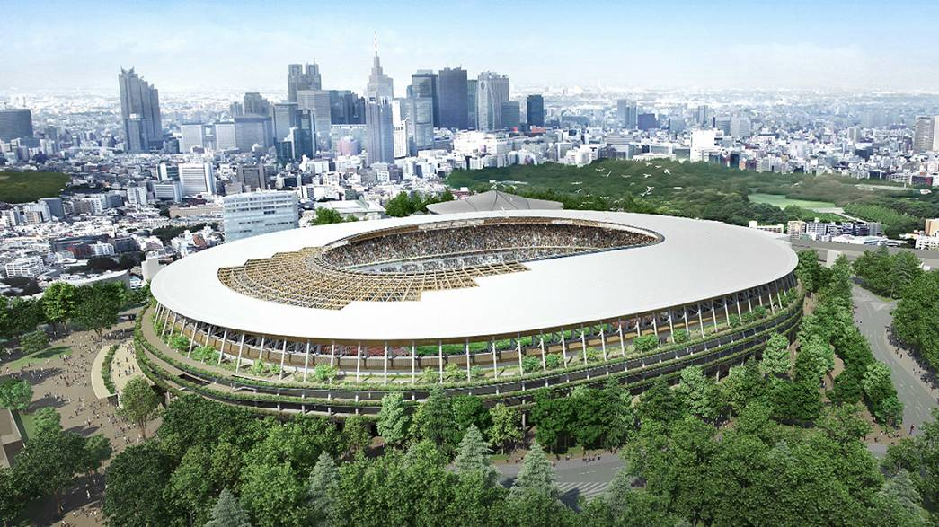 Tokyo 2020: svelato il progetto del nuovo stadio olimpico
