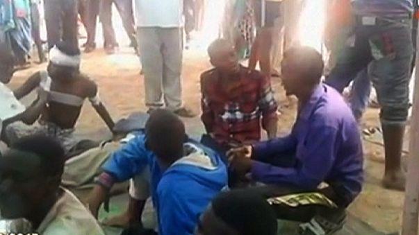 Police and protesters clash in Djibouti