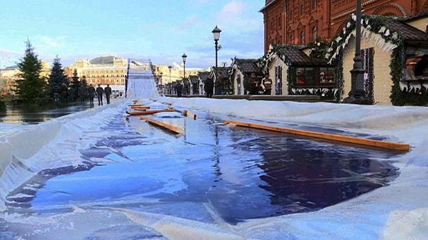 Natal branco de neve é imagem do passado: o planeta está mais quente