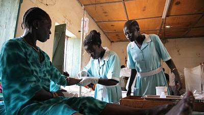 South Sudan : Hospital caught in the crossfire