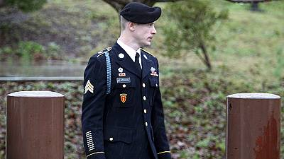 Accused army deserter Bowe Bergdahl appears in court