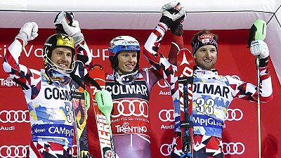 Taça do Mundo de Esqui Alpino: Henrik Kristoffersen vence slalom noturno de Madonna Di Campiglio