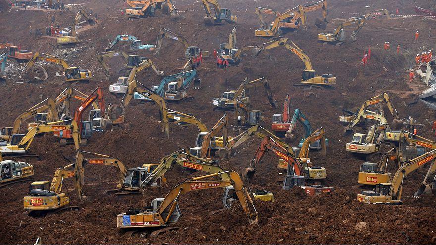 الأعمال مستمرة في مدنية شينزين الصينية للعثور على ناجين