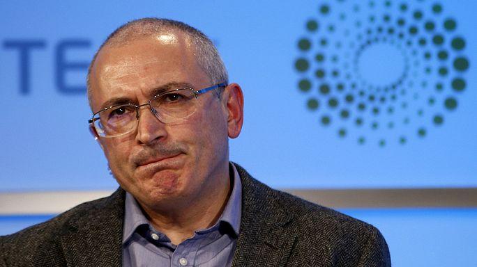 Un mandat d'arrêt international contre l'opposant russe Mikhaïl Khodorkovski