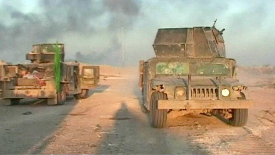 Előrenyomult az iraki hadsereg Ramadiban