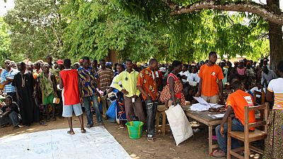 600 Ivorian refugees in Liberia return home