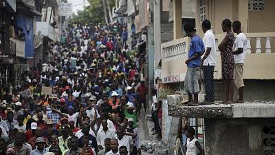 UN urges dialogue in Haiti election dispute