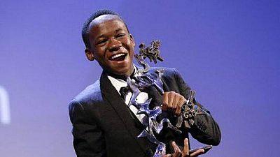 Ghanaian Actor Abraham Attah wins BFCC's 'Rising Star' award