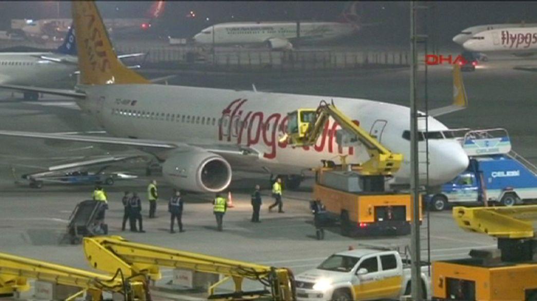 Une explosion d'origine inconnue fait un mort à l'aéroport Gökçen d'Istanbul