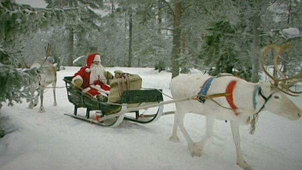 Noel Baba yola çıktı