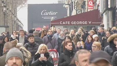 El consumo en Francia progresó en el tercer trimestre, pero retrocedió en noviembre