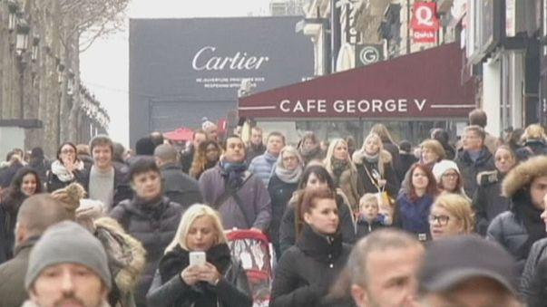 Fransa'da kış gelmeyince tüketici harcamaları azaldı